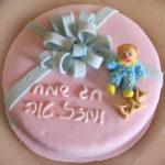 עוגה מבצק סוכר: על ליצנים, פורים וימי הולדת
