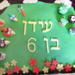 עוד עוגת יומולדת: Angry birds
