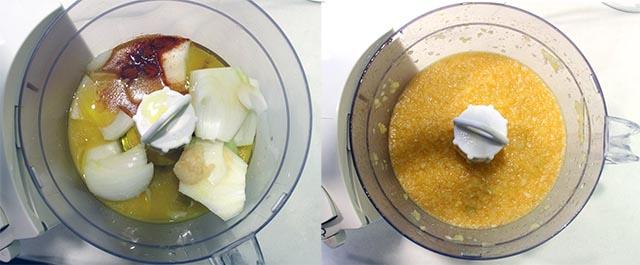 הכנת רוטב התפוזים