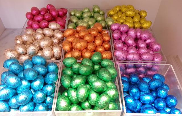 ביצי שוקולד של חג הפסחא