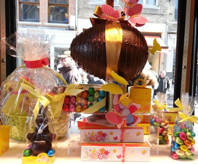ביצי שוקולד וארנבים לחג הפסחא