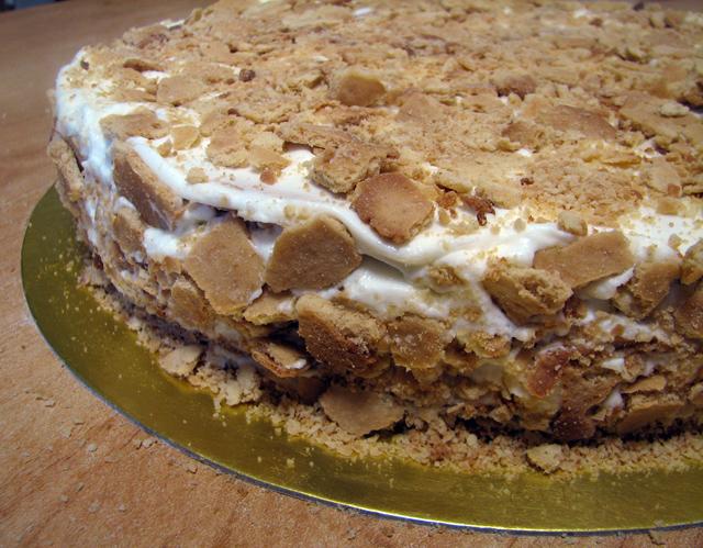 עוגת דבש בשכבות - מדוביק