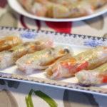 ספרינג רול – דפי אורז ממולאים בירקות מוקפצים