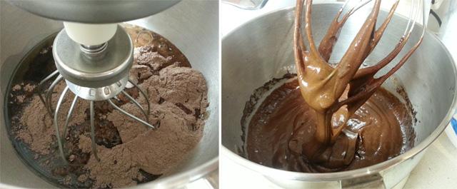 תערובת לעוגת שוקולד