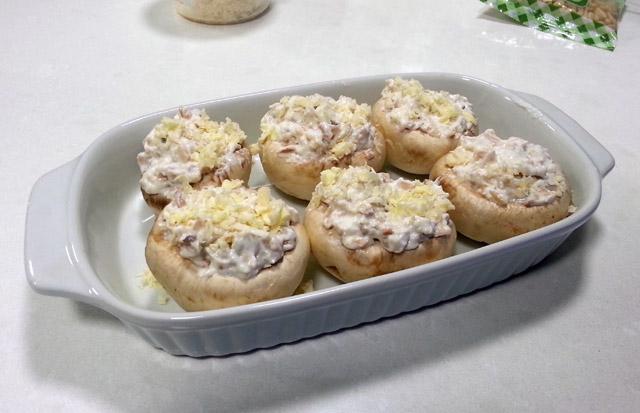 פטריות לפי בישול
