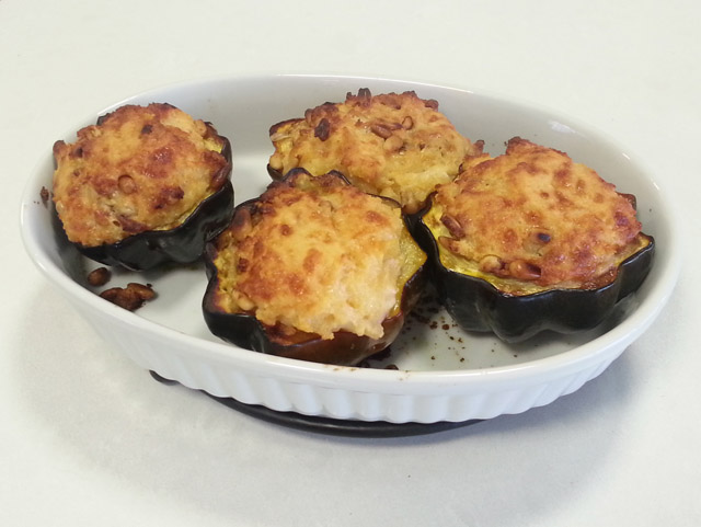 דלעת ערמונים במילוי גבינות