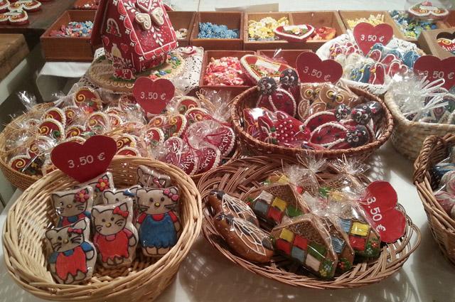עוגיות gingerbread מקושטות