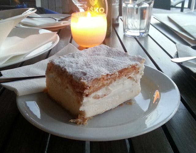 עוגת קרמשניט במלון פארק