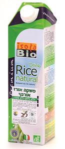 משקה אורז של Isola Bio