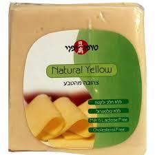"""גבינה """"צהובה"""" של טופו יפני"""