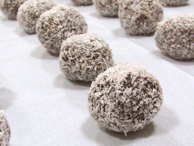 כדורי שוקולד טורטית