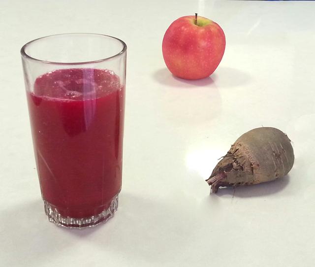 שייק סלק, תפוח וגזר