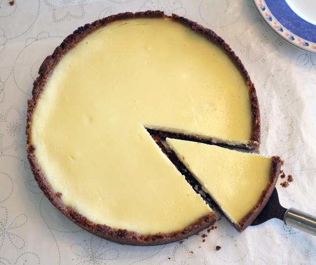 פאי גבינה עם קלתית אגוזים