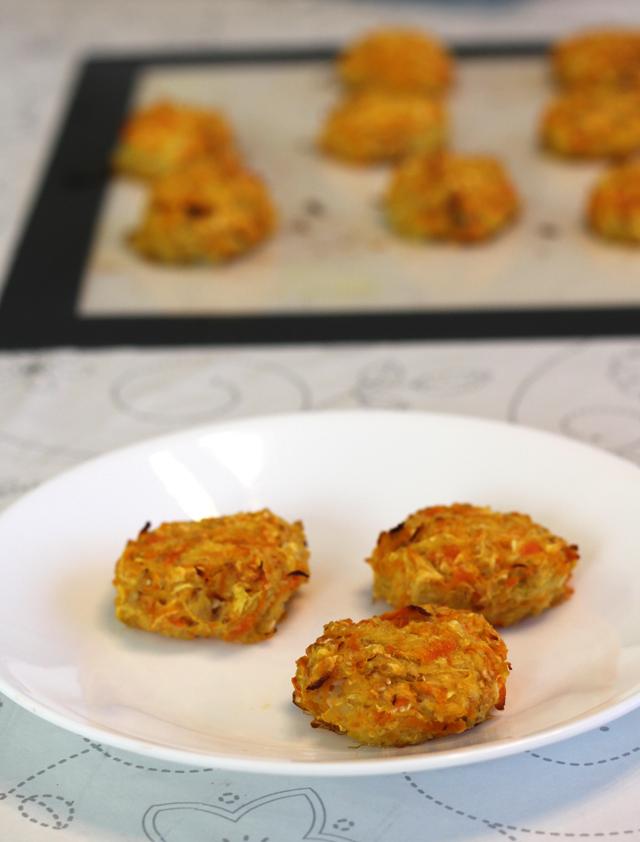 לביבות ירקות אפויות בתנור
