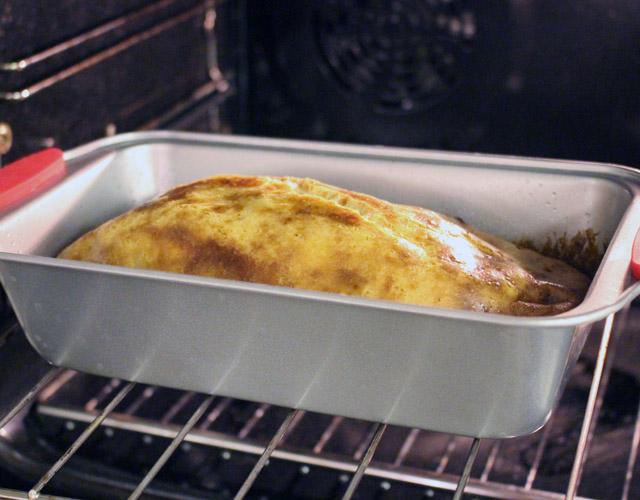 לחם טחינה בתנור