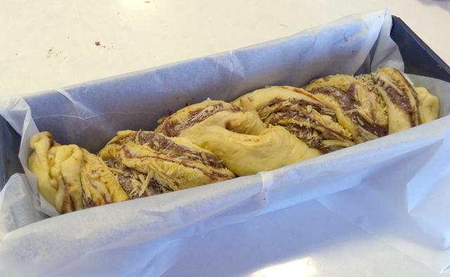 עוגת שמרים נוטלה וחלבה