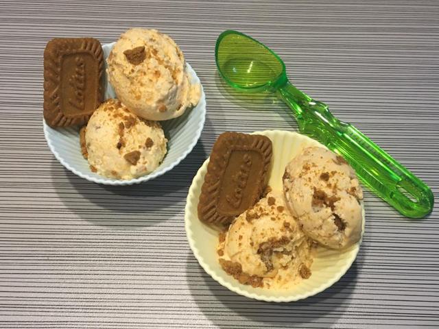 גלידת בטטה ולוטוס