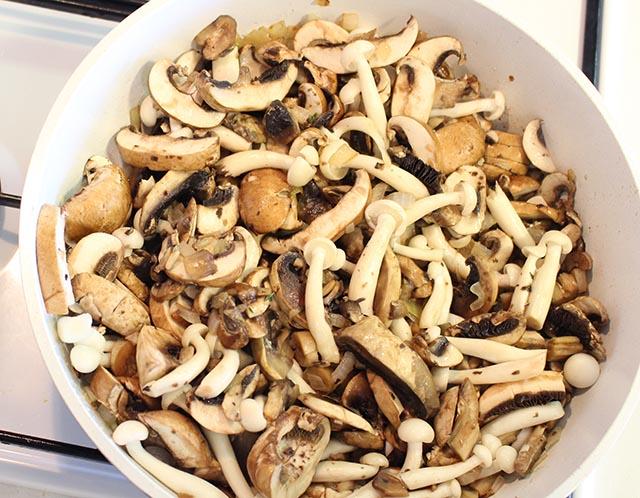 הפטריות מוכנות