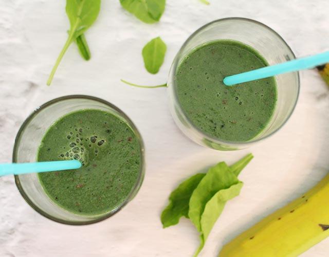 שייק ספירולינה ירוק