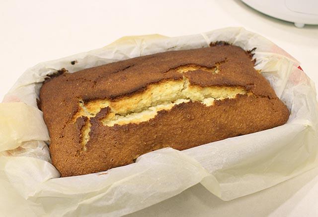 העוגה אפוייה ומוכנה לציפוי