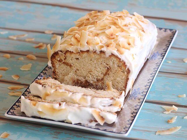 עוגת קוקוס וריבת חלב ללא גלוטן