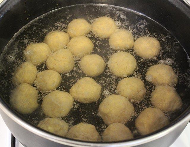 הכדורים מתבשלים
