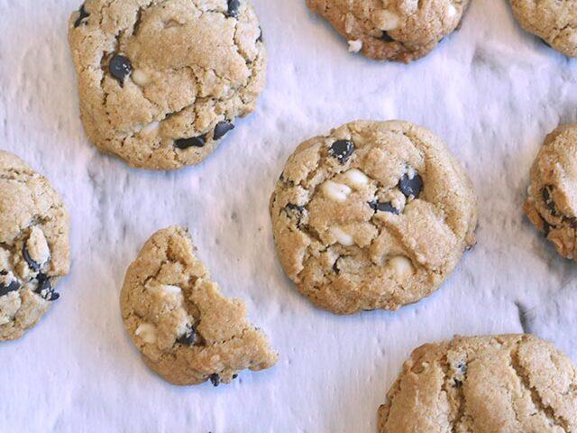 עוגיות שוקולד צ'יפס ללא גלוטן