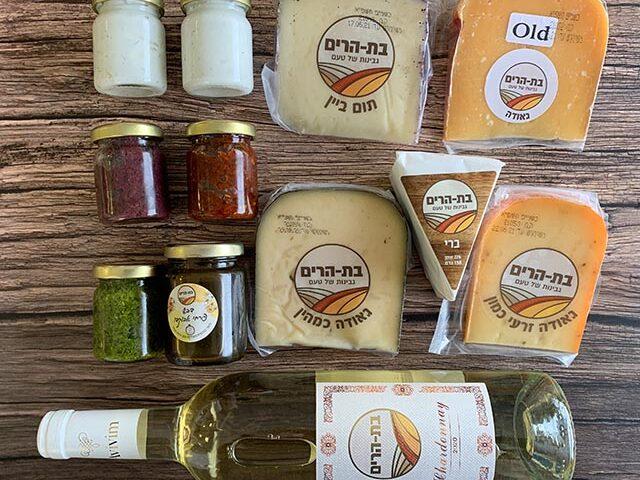 גבינות טעימות במעדניית בת הרים